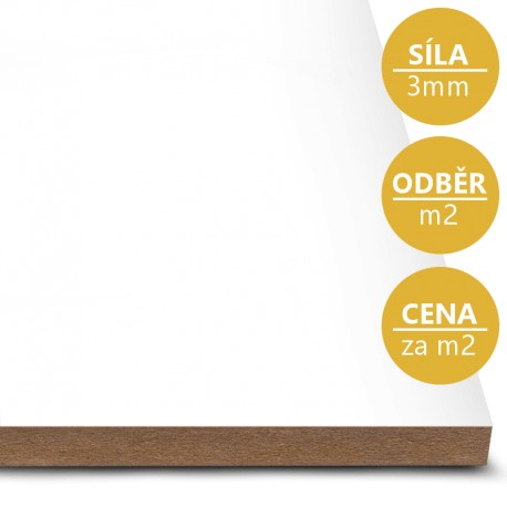 MDF deska tl. 3 mm