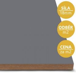 MDF deska tl. 18 mm šedá