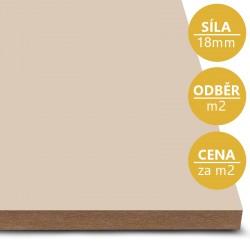 MDF deska tl. 18 mm písková